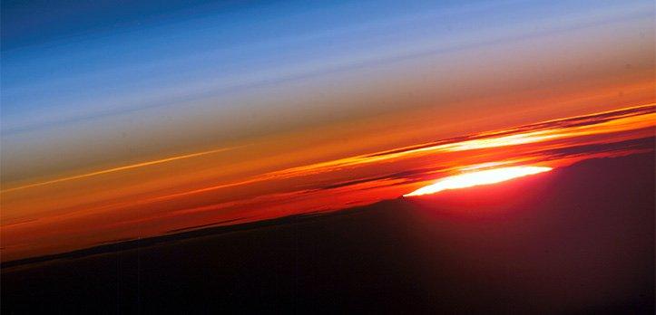iss-sunset