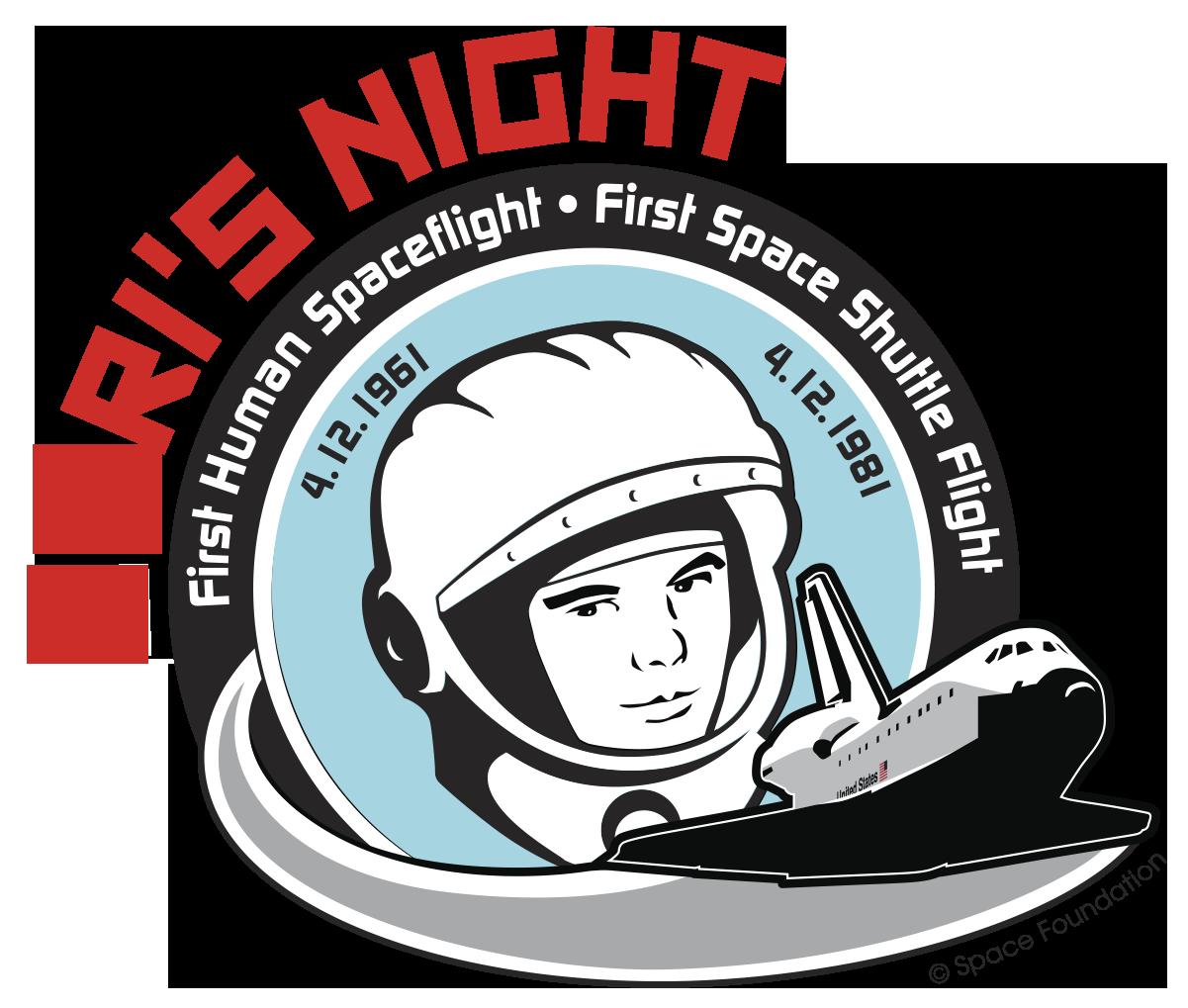 updated Yuri's Night logo