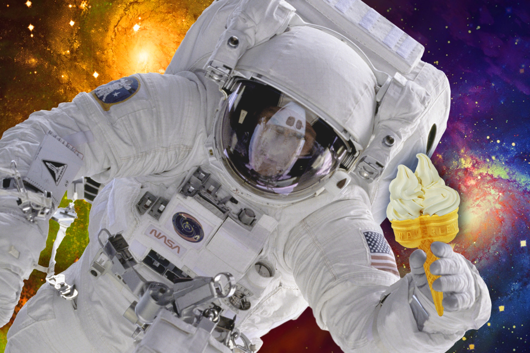 IceCream Astronaut 2